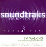 I'm Walking, Accompaniment CD   -              By: Donnie McClurkin