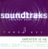 Greater Is He, Accompaniment CD   -     By: The Crabb Family