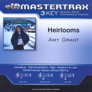 Heirlooms (High Key-Premiere Performance Plus w/o Background Vocals)  [Music Download] -     By: Amy Grant