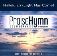 Hallelujah (Light Has Come), Accompaniment CD   -     By: BarlowGirl