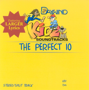 The Perfect 10, Accompaniment CD   -