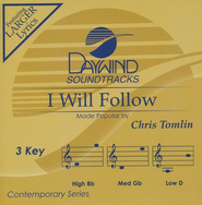 I Will Follow, Accompaniment CD   -              By: Chris Tomlin