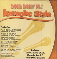 Modern Worship, Volume 2, Karaoke Style CD   -