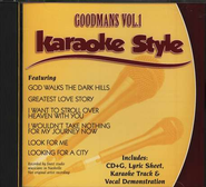 The Goodmans, Volume 1, Karaoke Style CD   -
