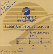 Hear Us from Heaven, Accompaniment CD   -     By: Jared Anderson