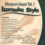 Bluegrass Gospel, Volume 2, Karaoke Style CD   -