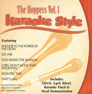 The Hoppers, Volume 1, Karaoke Style CD   -     By: The Hoppers