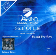Stuff Of Life, Accompaniment CD   -     By: The Booth Brothers