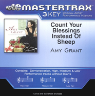 Count Your Blessings Instead Of Sheep, Accompaniment CD   -              By: Amy Grant