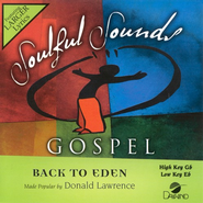 Back To Eden, Accompaniment CD   -     By: Donald Lawrence