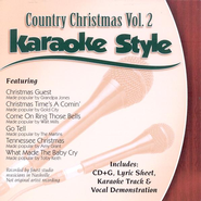 Country Christmas, Volume 2, Karaoke Style CD   -