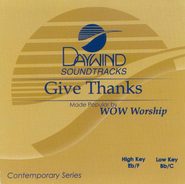 Give Thanks, Accompaniment CD   -     By: WOW Worship