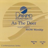 As The Deer, Accompaniment CD   -     By: WOW Worship