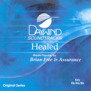 Healed, Accompaniment CD   -     By: Brian Free & Assurance