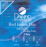 Red Letter Day, Accompaniment CD   -     By: The Talley Trio