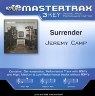 Surrender, Accompaniment CD   -     By: Jeremy Camp