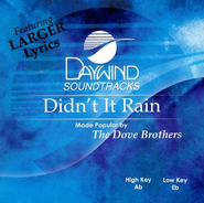 Didn't It Rain, Accompaniment CD   -              By: Dove Brothers Quartet