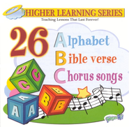 26 Alphabet Bible Chorus Songs CD   -