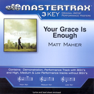 Your Grace Is Enough, Accompaniment CD   -     By: Matt Maher