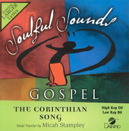 The Corinthian Song, Accompaniment CD   -     By: Micah Stampley