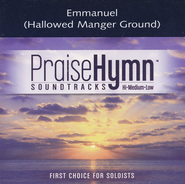 Emmanuel (Hallowed Manger Ground), Accompaniment CD   -     By: Chris Tomlin