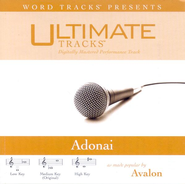 Adonai - Medium key performance track w/ background vocals  [Music Download] -     By: Avalon