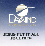 Jesus Put It All Together, Accompaniment CD   -              By: Lewis Phillips