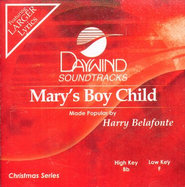 Mary's Boy Child, Accompaniment CD   -     By: Harry Belafonte