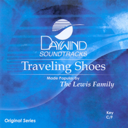 Traveling Shoes, Accompaniment CD   -     By: The Lewis Family