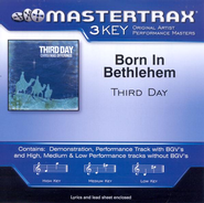 Born In Bethlehem, Accompaniment CD   -     By: Third Day