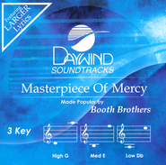 Masterpiece of Mercy Acc, CD  -              By: The Booth Brothers