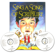 Sing A Song Of Scripture, Book/CD Combo  -