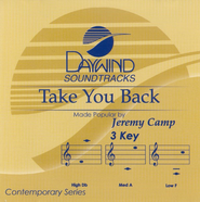 Take You Back, Accompaniment CD   -     By: Jeremy Camp