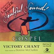 Victory Chant, Accompaniment CD   -     By: Donnie McClurkin