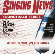 When He Was On The Cross, Accompaniment CD   -