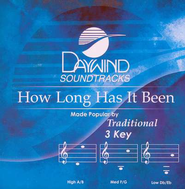How Long Has It Been, Accompaniment CD   -     By: Traditional