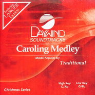 Caroling Medley, Accompaniment CD   -