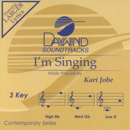 I'm Singing, Accompaniment CD  -     By: Kari Jobe