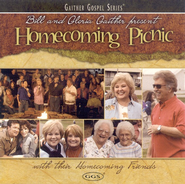 Homecoming Picnic CD  -              By: Bill Gaither, Gloria Gaither, Homecoming Friends