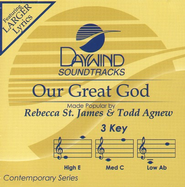 Our Great God, Accompaniment CD   -              By: Rebecca St. James, Todd Agnew