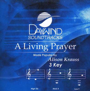 A Living Prayer, Accompaniment CD   -              By: Alison Krauss