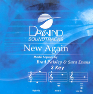 New Again, Accompaniment CD   -     By: Brad Paisley, Sara Evans