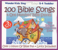 100 Bible Songs & One Hundred Bible Stories, 3 CD Set   -              By: The Wonder Kids