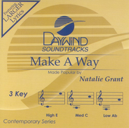 Make A Way, Accompaniment CD  -     By: Natalie Grant