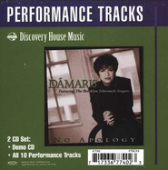 No Apology, CD Trax   -     By: Damaris Carbaugh