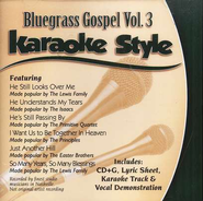 Bluegrass Gospel, Volume 3, Karaoke Style CD   -