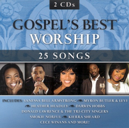 Gospel's Best Worship, 2 CDs   -
