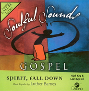 Spirit Fall Down, Accompaniment CD   -     By: Luther Barnes