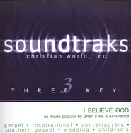 I Believe God, Accompaniment CD   -     By: Brian Free & Assurance