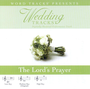Wedding Tracks - The Lord's Prayer [Performance Track]  [Music Download] -